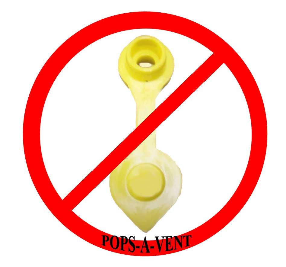 pops-a-vent replacement gas fuel can vent cap
